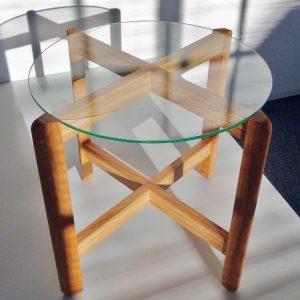 Kehä design lasipöytä