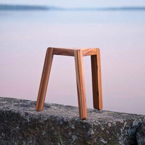 minimi puinen design jakkara