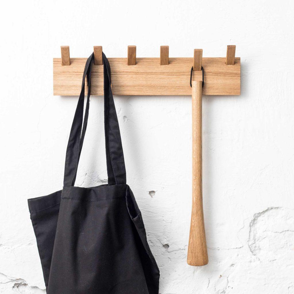 aulakko puinen design naulakko